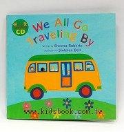 快樂讀唱繪本:WE ALL GO TRAVLINGBY(平裝書+VCD)