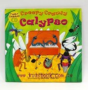快樂讀唱繪本:Creepy Crawly Calypso(平裝書+VCD)