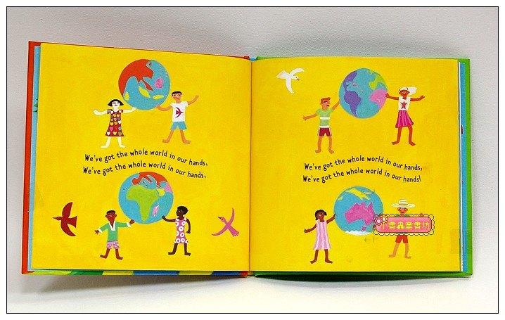 內頁放大:快樂讀唱繪本:WHOLE WORLD (精裝小書+CD)