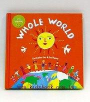 快樂讀唱繪本:WHOLE WORLD (精裝小書+CD)