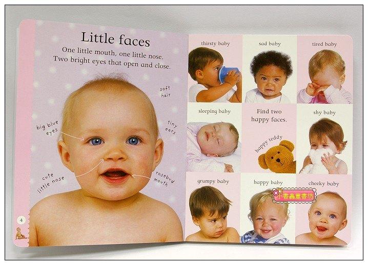 內頁放大:快樂讀唱繪本:BABYS BUSY WORLD 寶寶的第一本認知有聲書(大硬頁書+CD)