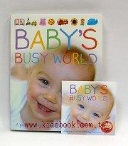 快樂讀唱繪本:BABYS BUSY WORLD 寶寶的第一本認知有聲書(大硬頁書+CD)