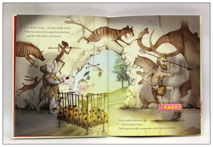 內頁放大:Cave Baby(平裝書+CD)