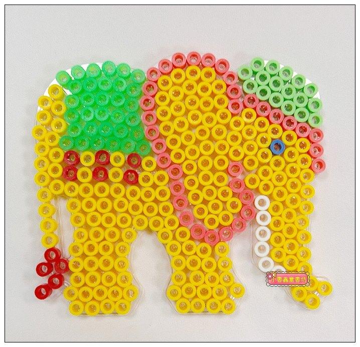 內頁放大:大象模板:大豆豆模板
