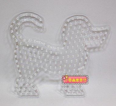 小狗透明模板:大豆豆模板