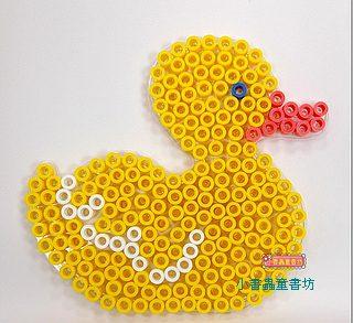 小鴨透明模板:大豆豆模板