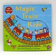 快樂讀唱繪本:Magic Train Ride (平裝書+CD)