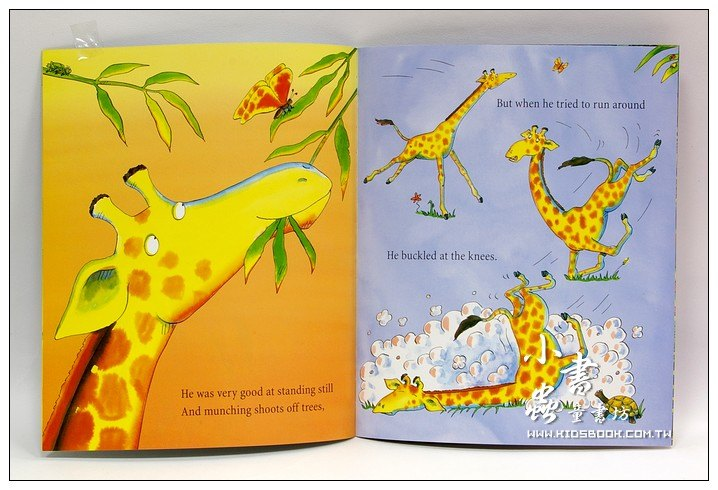 內頁放大:GIRAFFES CAN'T DANCE (平裝書+CD)