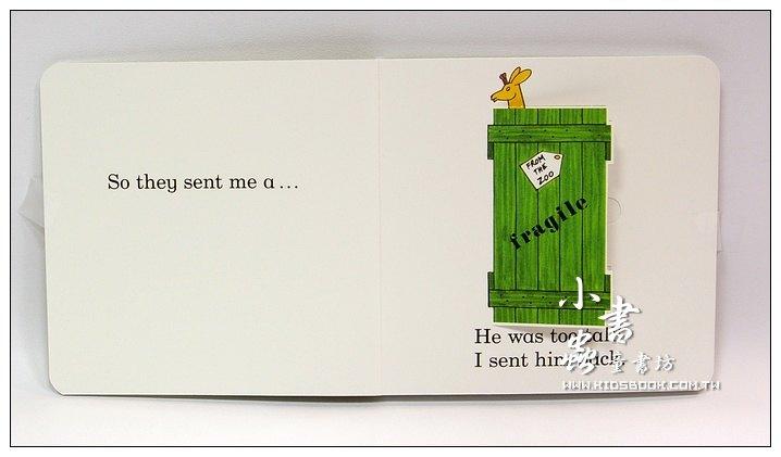 內頁放大:Dear zoo(硬頁翻翻書+CD)