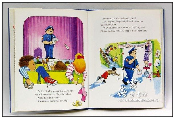 內頁放大:OFFICER BUCKLE & GLORIA (巴警官與狗利亞)