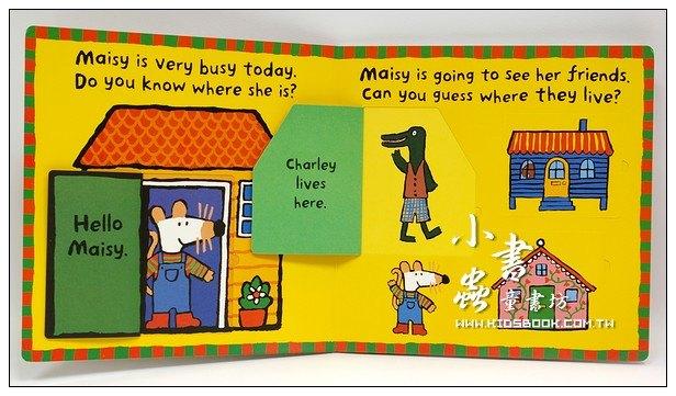 內頁放大:小鼠波波翻翻書(硬頁):maisy,s Big Flap Book
