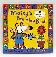 小鼠波波翻翻書(硬頁):maisy,s Big Flap Book