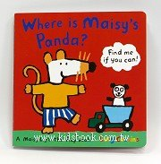 小鼠波波翻翻書:Where is Maisy,s Panda?
