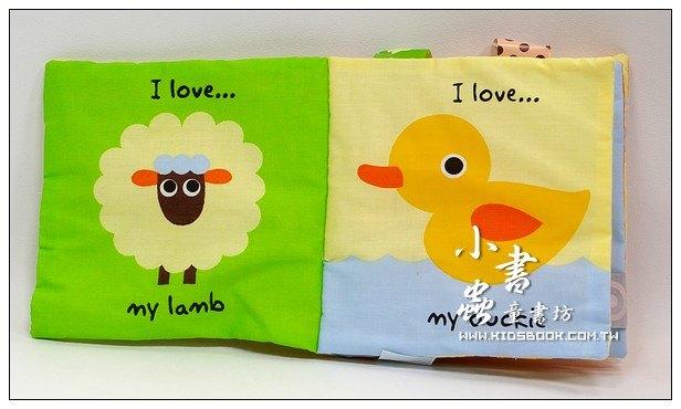 內頁放大:布書:我的第一本隨身書I Love my elephant(我愛我的大象)(79折)
