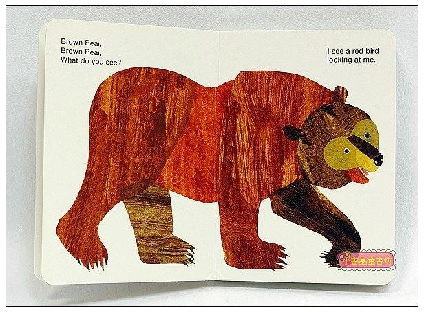 內頁放大:艾瑞.卡爾:Brown Bear,Brown Bear,What Do You See?(硬頁書)