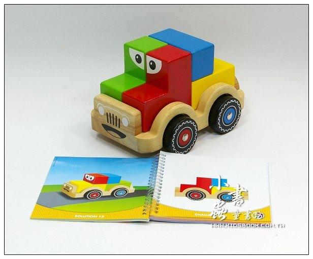 內頁放大:堆堆樂積木車(79折)