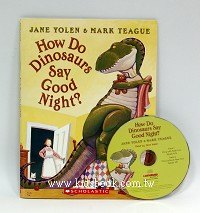 HOW DO DINOSAURS SAY GOOD NIGHT?(平裝書+CD)