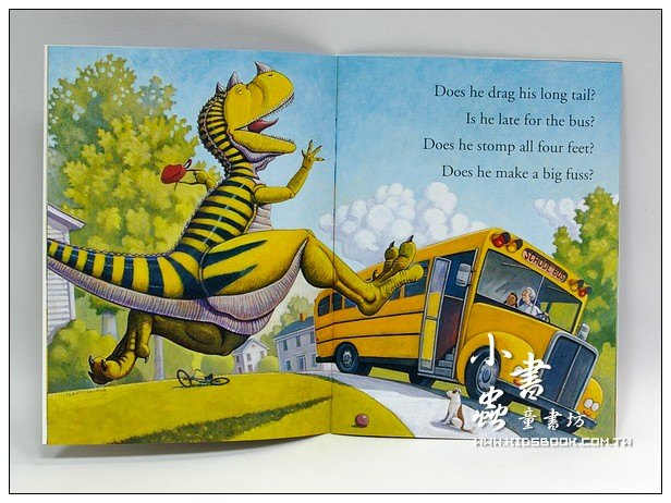 內頁放大:How Do Dinosaurs Go to School?(平裝書+CD)