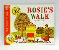ROSIE,S WALK (平裝書+CD) (母雞蘿絲去散步)
