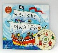 快樂讀唱繪本:PORT SIDE PIRATES (平裝書+VCD)