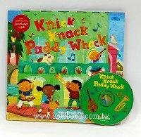 快樂讀唱繪本:Knick Knack Paddy Whack (平裝書+CD)
