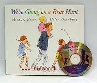 We,re Going On A Bear Hunt (我們要去捉狗熊)(平裝書+CD)