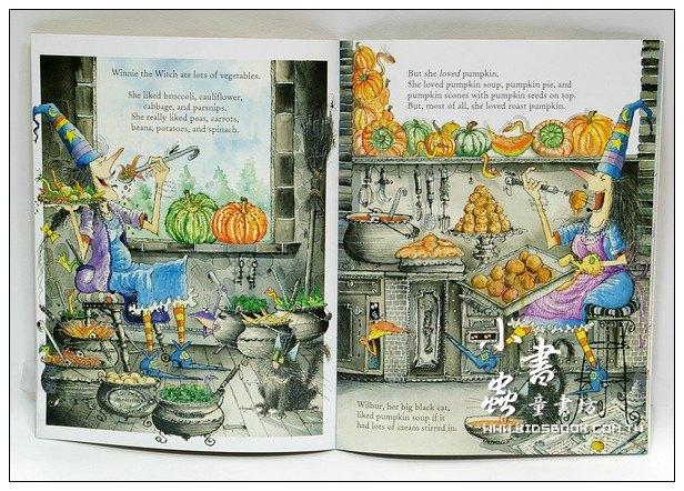 內頁放大:巫婆與黑貓系列:WINNIE,S AMAZING PUMPKIN (平裝書+CD)