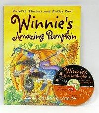 巫婆與黑貓系列:WINNIE,S AMAZING PUMPKIN (平裝書+CD)