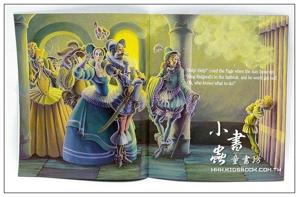 內頁放大:KING BIDGOOD IN THE BATHTUB (澡缸裡的國王) (平裝書+CD)