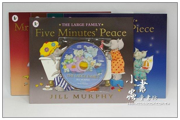 內頁放大:大象家族趣味故事:The Large Family Collection(平裝書+CD)