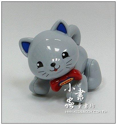 內頁放大:小貓咪(灰):TOLO動物公仔