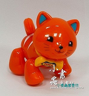 小貓咪(橘):TOLO動物公仔(現貨數量:2)絕版品