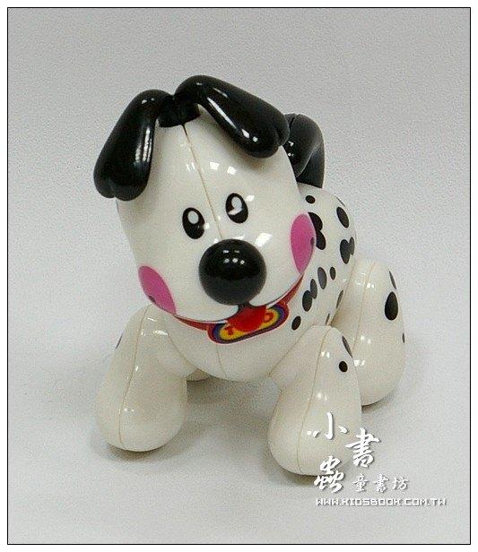 內頁放大:黑點點小白狗:TOLO動物公仔