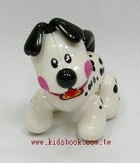 黑點點小白狗:TOLO動物公仔