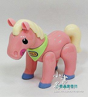 小馬(粉紅):TOLO動物公仔(現貨數量:2)絕版品