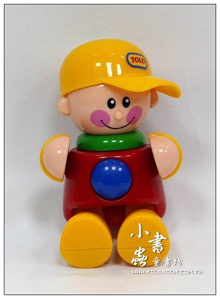 內頁放大:棒球帽男孩(黃帽子):TOLO人物公仔(現貨數量:1)絕版品