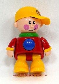 棒球帽男孩(黃帽子):TOLO人物公仔(現貨數量:1)絕版品