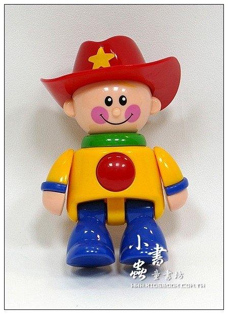 內頁放大:牛仔 (紅帽子):TOLO人物公仔(現貨數量:1)絕版品