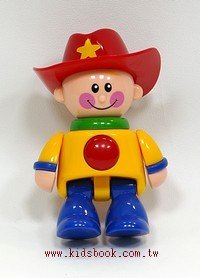 牛仔 (紅帽子):TOLO人物公仔(現貨數量:1)絕版品