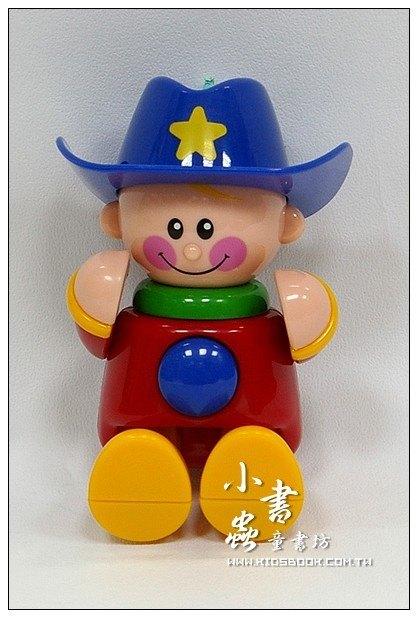 內頁放大:牛仔 (藍帽子):TOLO人物公仔