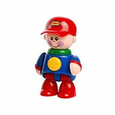 內頁放大:棒球帽男孩(紅帽子):TOLO人物公仔(現貨數量:2)絕版品