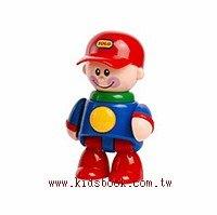 棒球帽男孩(紅帽子):TOLO人物公仔(現貨數量:2)絕版品