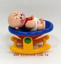 嬰兒和搖籃:TOLO人物公仔
