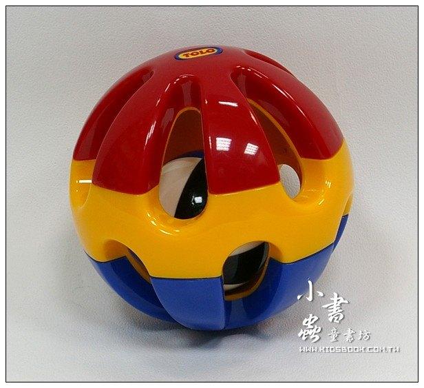 內頁放大:滾滾球:TOLO寶寶玩具