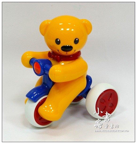 內頁放大:泰迪熊迴力腳踏車:TOLO寶寶玩具