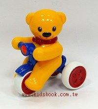 泰迪熊迴力腳踏車:TOLO寶寶玩具