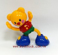健身泰迪熊:TOLO寶寶玩具