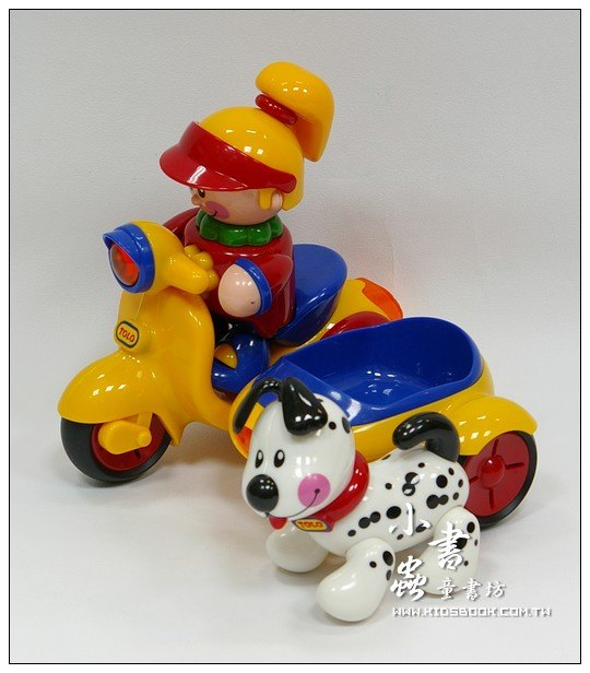 內頁放大:陽光女孩、三輪車和小狗:TOLO寶寶玩具