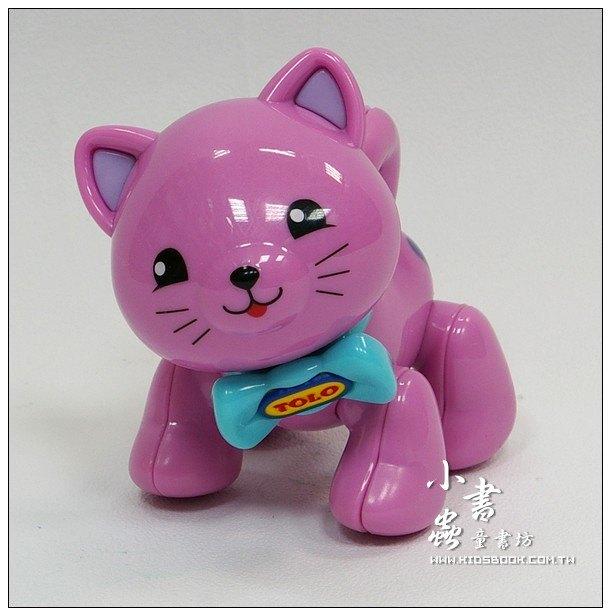 內頁放大:小貓咪(粉紅):TOLO動物公仔