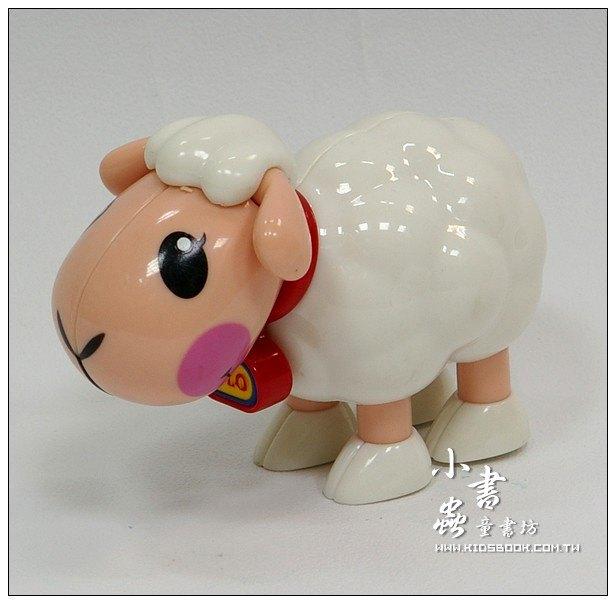 內頁放大:小綿羊:TOLO動物公仔(現貨數量:1)絕版品